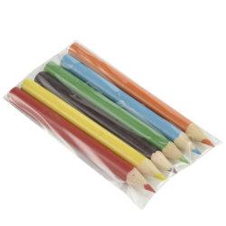 Het Potlood van de kleur met de Druk van het Embleem op Potlood en Pakket