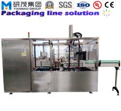 Automatischer Spitzenladen-vertikaler Karton-Verpackmaschine für Nahrungsmittelverpackung mit dem Aufrichten und dem Dichten