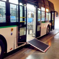 China-spezielle elektrischer Rollstuhl-Laden-Rampe für Bus mit Cer und Emark Bescheinigung