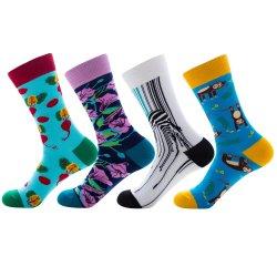 Mann-Frauen-Mädchen-Jungen-Nylon-Polyester-Bambusbaumwollsocke kein Erscheinen-Kleid-Socken-Schule-Geschäfts-Knie-hoher Sport, der Komprimierung-Ski-Strumpf-Fußball-Socke wandert