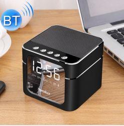 Q5 altavoz Bluetooth portátil con pantalla espejo y micrófono incorporado es compatible con la tarjeta del TF de manos libres