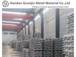 Les lingots en alliage aluminium 99.99% / ADC12 avec GO avec haute pureté raffiné avec rapport de SGS
