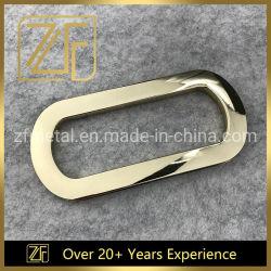 La lumière de l'or 116mm Sac à main le raccord métallique Poignée double d'accessoires de la cosse à oeillet pour sac