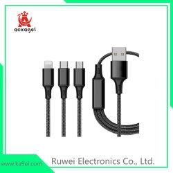 Telefon in-1 USB-Kabel des 1.2m Handy-Daten-Kabel-3 kompatibles