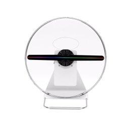 새로운 2019 30cm 3D 홀로그램 팬 저가 LED 팬 3D 홀로그램 광고 데스크탑 홀로그램 팬 디스플레이 LED 3D 홀로그램
