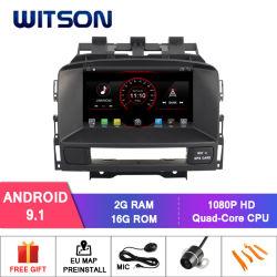 De vierling-Kern van Witson Androïde GPS van de 9.1 Auto DVD voor de Ingebouwde OBD Functie van Opel Astra J