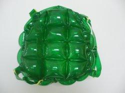 قابل للنفخ خضراء حقيبة لعبة