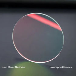 지능적인 카메라 렌즈를 위한 650nm 저주파 통과 필터를 IR 자르십시오
