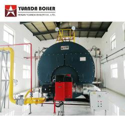 연료를 사용하는 3 톤 연관 증기 보일러 기계