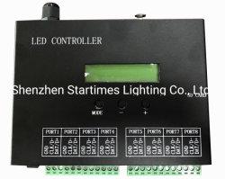 5 anos de garantia de Pixel Spi LED luzes endereçável decoração Natal Decoração de Casamento Controlador de luz LED