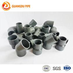 Accessorio per tubi unito di plastica grigio/bianco di pressione PVC/CPVC/UPVC di Fiittings della boccola della protezione di estremità del sindacato del T della flangia dell'accoppiamento del gomito dell'accessorio per tubi dell'impianto idraulico per il drenaggio