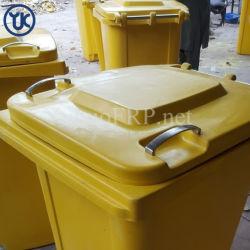 学校のための安全な、信頼できる耐熱性FRP/GRPのごみ箱