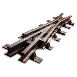 Hochgeschwindigkeitslegierter Stahl-Bahnüberfahrt verwendet in der konkreten Lagerschwelle