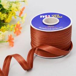 15mm Pli simple bande de reliure de polarisation de satin de polyester