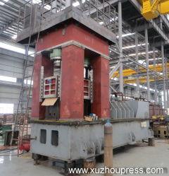 Auto Semi-Axle forgeage Die Presse hydraulique de rotation de la machine