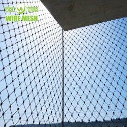 Трос из нержавеющей стали сетка зоопарк Netting-Animal вольере корпуса с высоты птичьего полета Net лестница зеленого стены сетка