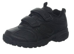 2019 أساليب جديدة من مدرسة أحذية ، جلد أطفال أحذية ، رياضات أحذية ، أسود وأبيض بالجملة أحذية