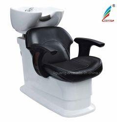 Venda por grosso de fábrica Barbearia metade - deitado champô Cadeira Cadeira de lavagem de cabelo