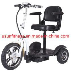 3 Räder, die Mobilitäts-Roller-elektrische Dreiradroller-elektrisches Fahrzeug mit Cer falten