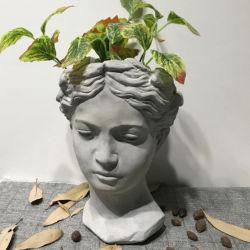Custom Grosso grande jardim exterior de Cimento Cerâmica Angel Figura modelar vasos de plantas