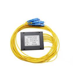 FTTH Council Caixa ABS TIPO SC UPC 1.5M 2,0mm 3,0mm 1X2 1X4 1X8 1X16 Fibra Óptica Divisor PLC