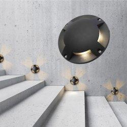 LEDs-C4 Licht, IP67 en Ik10 van de Grond van Gea IP67 het In een nis gezette Geschat, Ideaal voor de OpenluchtProjecten van de Verlichting