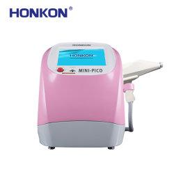 Honkon 950PS-980PS 휴대용 피코세컨드 Laser 기계 귀영나팔 제거 색깔 반점 제거