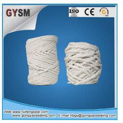 La laine de roche torsadée de fils torsadés /exempte de poussière de fils de l'amiante