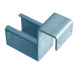 Cilindro de alumínio via, Conector de alumínio junta de canto, liga de alumínio, junta de Hardware, perfil de alumínio Joint