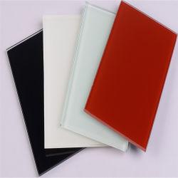 Satin/Painted/Lacobel/lacado/vidro decorativo artístico para decoração de paredes/splashback /armários de cozinha