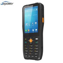 Android industriale PDA di NFC RFID del lettore 3G 4G WiFi di tocco dello schermo 1d del laser 2D dello scanner terminale tenuto in mano robusto del codice a barre