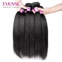Yvonne Sèche cheveux brésiliens Cheveux humains tissent Yaki Straight Remy Hair Extensions