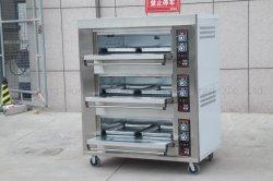 공장 판매 자동 사용 피자 데크 오븐 상업용 석재 벽돌 가스 핫 피자 오븐