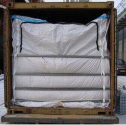De PP Tecidos de Revestimento em massa seca de contentores para transporte de cargas a granel
