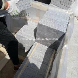 Откинуть Bluestone ландшафтный внутренний дворик плиткой и вымощены булыжником