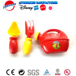 Juguete de plástico conjunto de herramientas de jardín Set de jardinería para niños Jardín feliz Toy