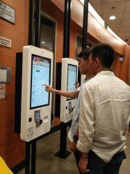 LCD Touchscreen van de Vertoning Kiosk de van uitstekende kwaliteit van de Betaling van de Zelfbediening