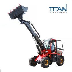 CE ISO SGS OEM TL1600T 1600kg 굴절식 전방 텔레스코픽 휠 로더(Yunnei 엔진 포함)