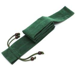 حقيبة قضبان الصيد قطعة قماش مخملية لحقيبة سلحمام قضبان الصيد