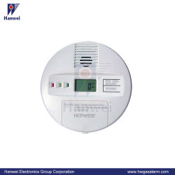 デジタル表示装置、高品質の電気化学センサーが付いている壁ハングさせたEn50291 Coアラーム