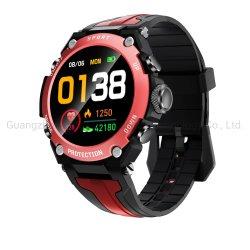 Dk10 Smart ver homens Reproduzir música de forma independente 1.3 polegadas sensível ao toque Total Sport Alta mergulho PI68 à prova de Ritmo Cardíaco Smartwatch