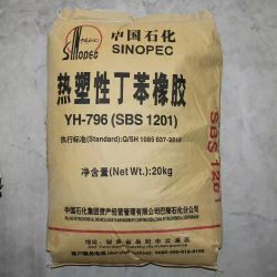 A SBS e Lineal Radial para ser usado como betume Nodifier em pavimentação e membrana de tejadilho