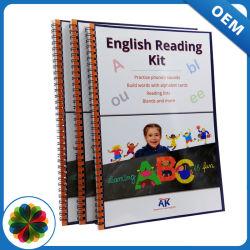 교육을%s 인쇄하는 박판 표면 완료 영국 책