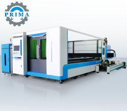 Tabella di funzionamento di scambio di tagliatrice del laser della fibra della taglierina del laser di CNC del acciaio al carbonio 2000W ss 3015