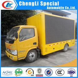 Pantalla LED de color amarillo a todo color la promoción/publicidad a la venta de camiones