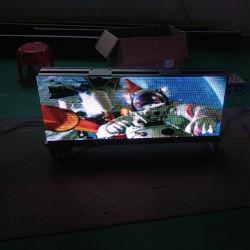 Dupla P3, P4, P5 de táxi de cores de LED na parte superior do mostrador de Publicidade