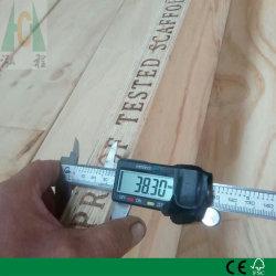 À prova de pinho completo da placa de andaimes LVL para uso de construção