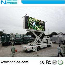 Chariot Mobile Advertising grande piscine de l'écran à affichage LED
