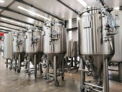 Tonsen 음료 맥주 양조 기계 장비 1000L 페르멘터 탱크