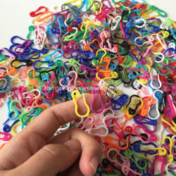 Venda por grosso de 22mm Etiqueta de plástico ABS colorido Marcador para a Colagem de PIN para ferramenta de tricotar
